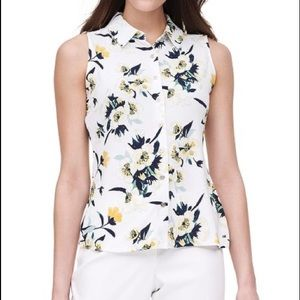Tommy Hilfiger sleeveless top in midnight floral